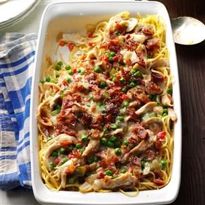 Mom's Chicken Tetrazzini
