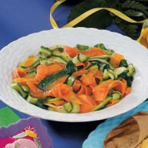 Love Knot Vegetables Recipe
