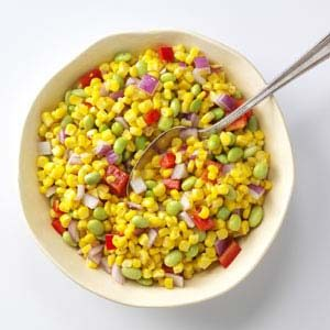 Asian Corn Succotash Recipe