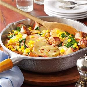 Sausage & Vegetable Skillet Dinner Recipe