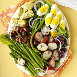 Veggie Nicoise Salad Recipe