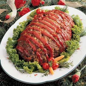 Sunday Meat Loaf Recipe