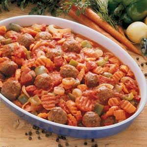 Garden's Plenty Meatballs Recipe