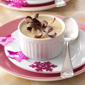 Hazelnut Pots de Creme Recipe photo by Taste of Home