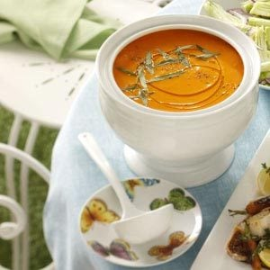 Carrot Soup with Orange & Tarragon Recipe