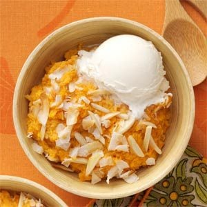 Baked Sweet Potato Pudding