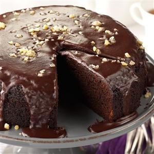 Chocolate Ginger Cake