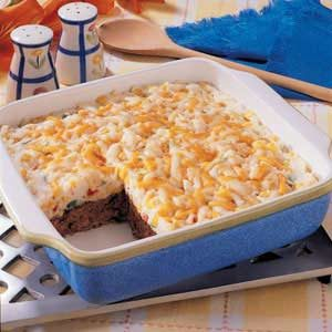 Potato-Topped Chili Meat Loaf Recipe