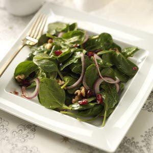 Cranberry-Chipotle Spinach Salad Recipe