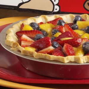 Double Berry Peach Pie Recipe