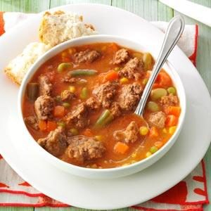 Tomato Hamburger Soup