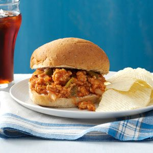 Turkey Sloppy Joes for a Crowd Recipe