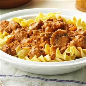 Two-Step Stroganoff Recipe