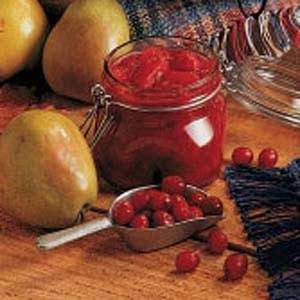 Pear Cranberry Relish Recipe