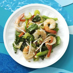 Hot Shrimp Salad Recipe