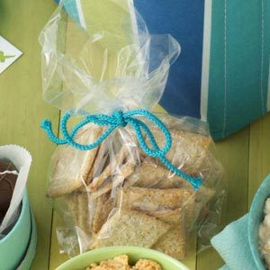 Rosemary Wheat Crackers