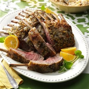 Mediterranean Rack of Lamb Recipe
