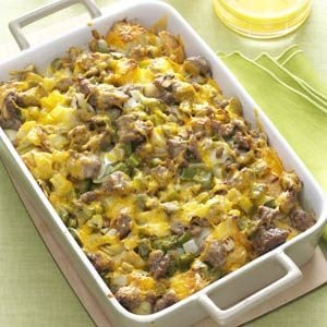 Easy Breakfast Strata Recipe