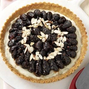 Glazed Fig & Almond Tart Recipe