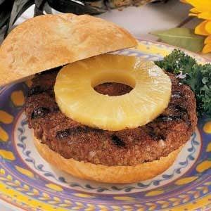 Teriyaki Burgers with Pineapple Recipe