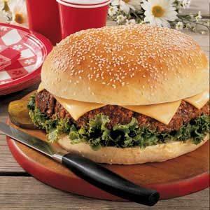 Texas Cheeseburger Recipe