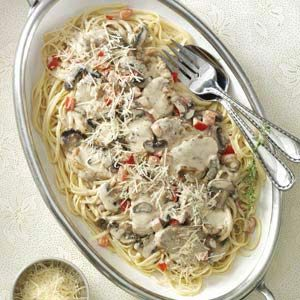 Pork Medallions with Brandy Cream Sauce Recipe