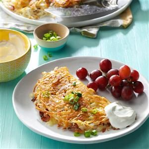 Stuffed Hash browns Recipe