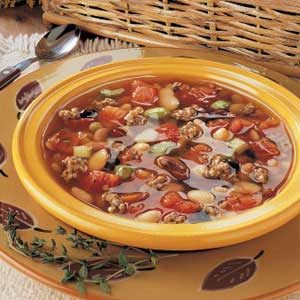 Mixed Bean Soup Recipe