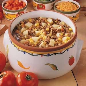 Zesty Green Chili Stew Recipe
