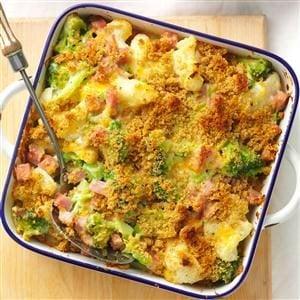 Ham & Veggie Casserole