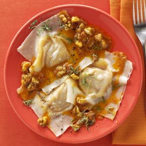 Wonton Walnut Ravioli Recipe