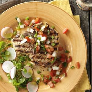 Dad's Best Pork Chops for Two Recipe