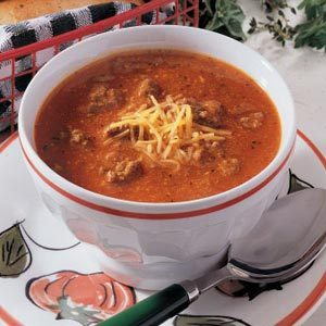 Quick Pizza Soup Recipe