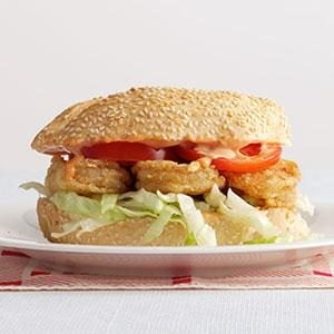 Creole-Spiced Shrimp Po'Boys Recipe