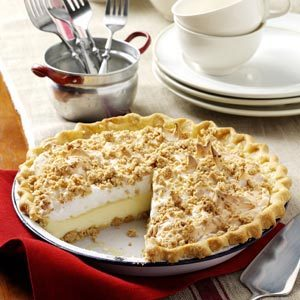 Peanut Butter Meringue Pie Recipe