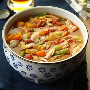 Maryland-Style Crab Soup Recipe