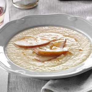 Roasted Parsnip and Pear Soup Recipe