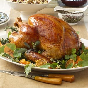 Tangerine-Glazed Turkey