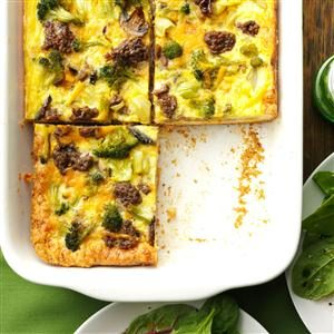 Broccoli Biscuit Squares Recipe