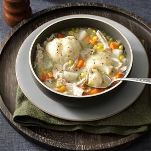 Momma's Turkey Stew with Dumplings Recipe