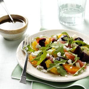 Citrus & Roasted Beets Salad Recipe