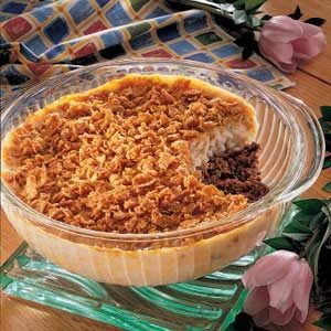 Crunchy Rice Casserole Recipe