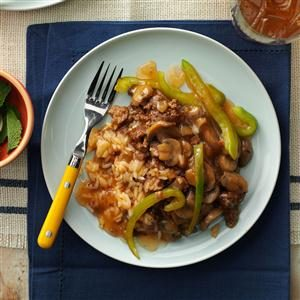 Sweet-and-Sour Supper Recipe