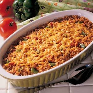 Spice Baked Rice Recipe