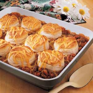 Biscuits and Beans Recipe