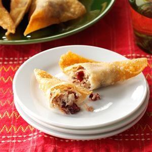 Thanksgiving Wontons Recipe