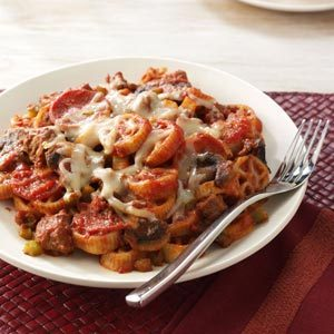 Wagon Wheel Pasta Toss Recipe