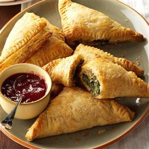 Spinach & Turkey Turnovers Recipe