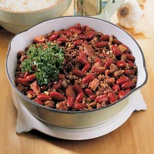 Kidney Beans and Rice Recipe