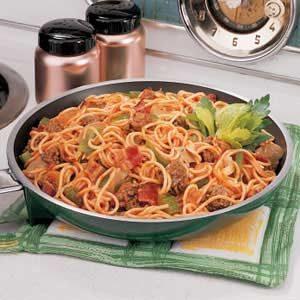 Spaghetti Supreme Recipe
